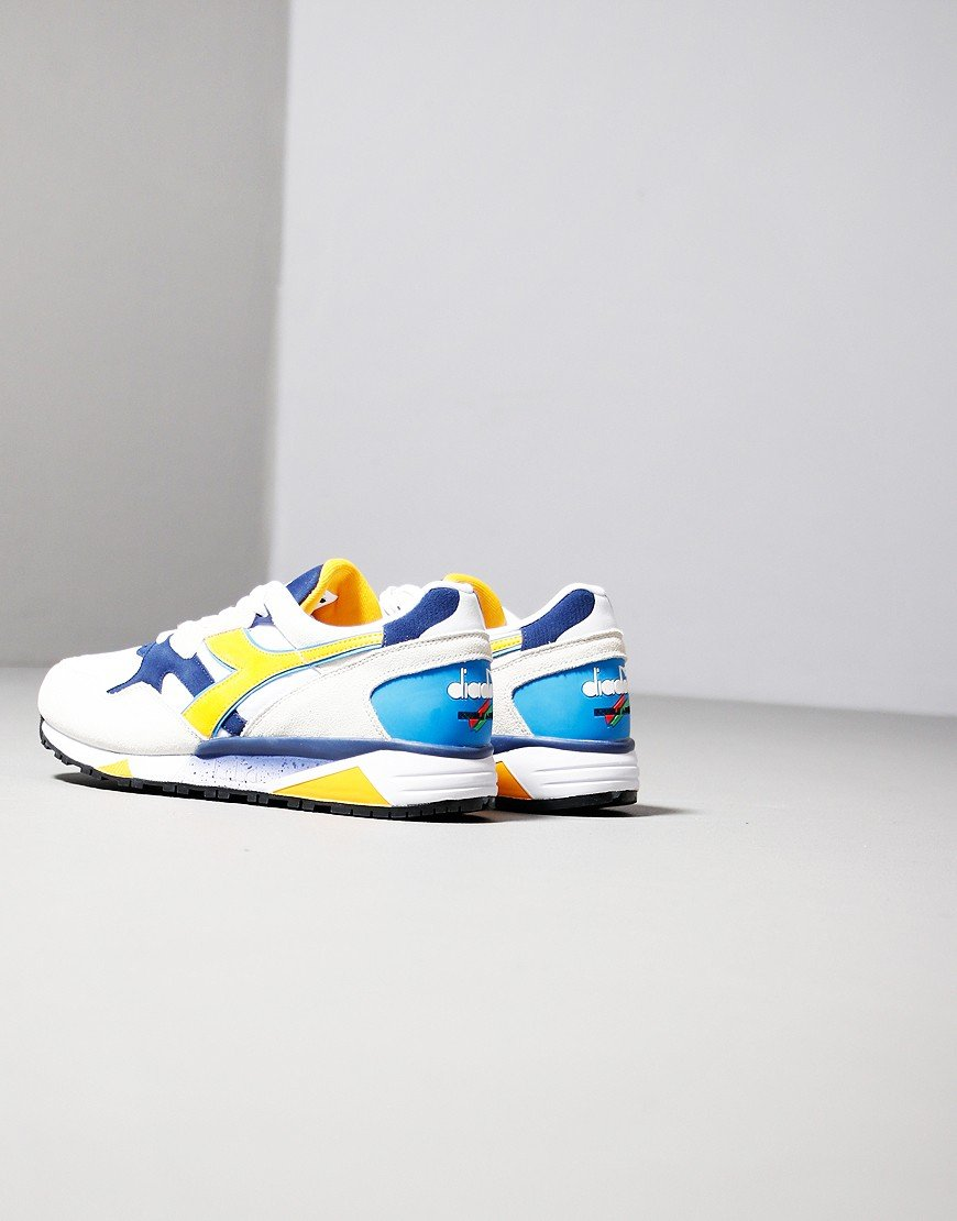 Diadora N9002 Trainers White/Twilight
