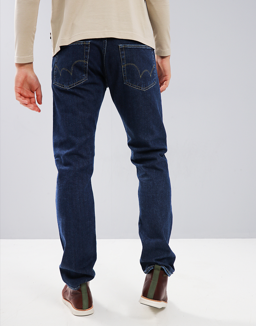 Edwin ED-55 Left Hand Regular Tapered Jeans Akira Wash