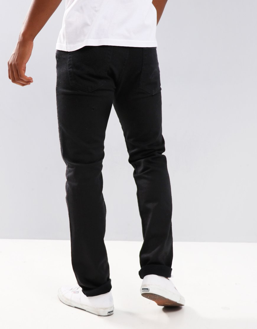Edwin ED-80 Slim Tapered Jeans Power Black