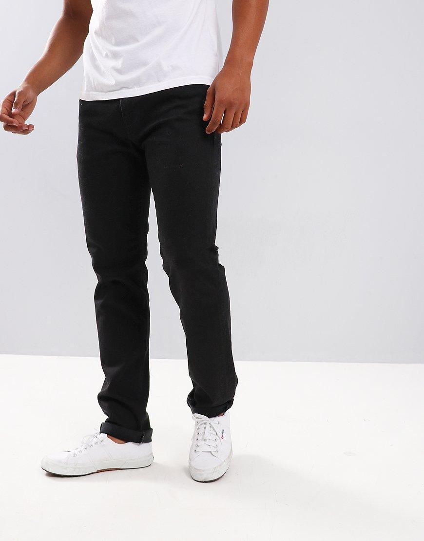 75b8e0d3 Edwin ED-80 Slim Tapered Jeans Powder Black - Terraces Menswear