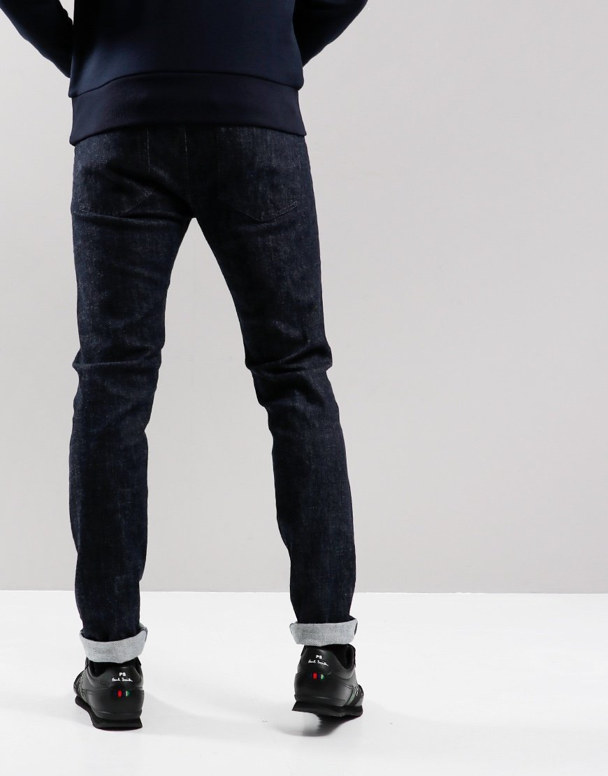 Edwin ED-85 Slim Tapered Drop Crotch Yuuki Jeans Blue Rinsed