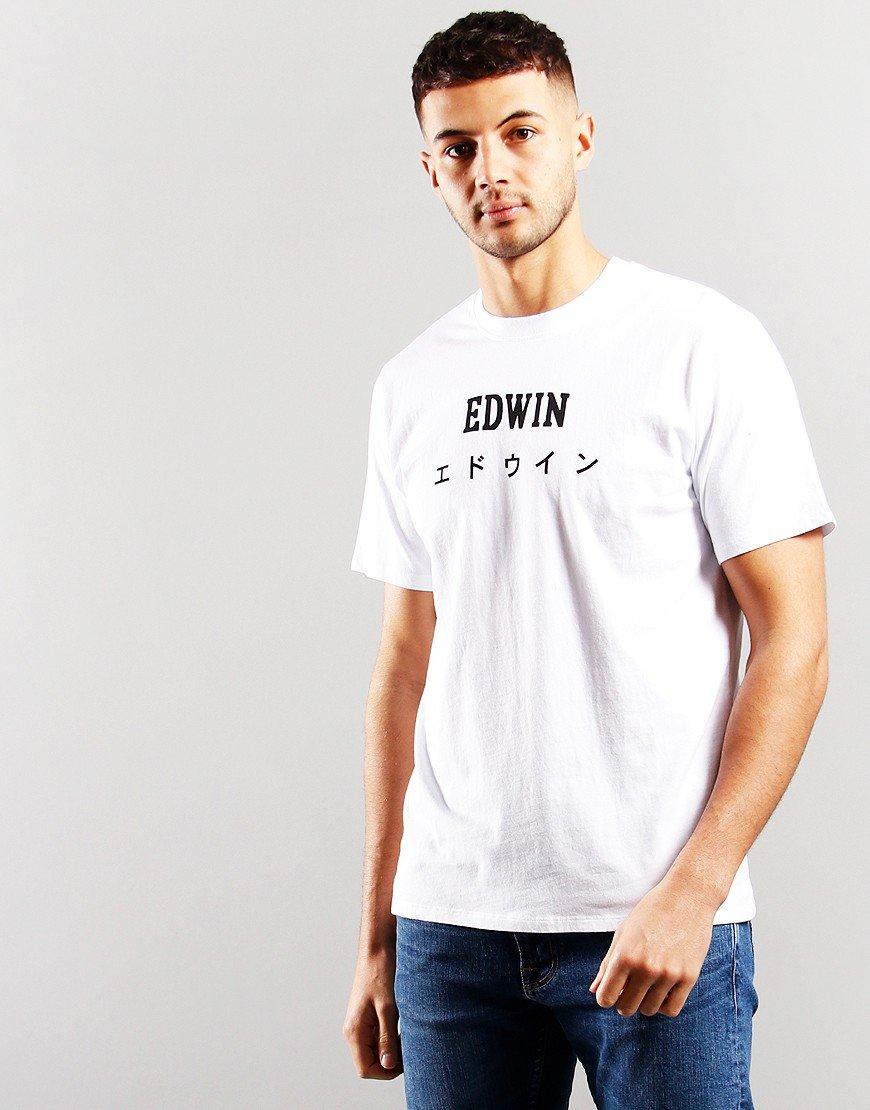 EDWIN Japan T-Shirt  White