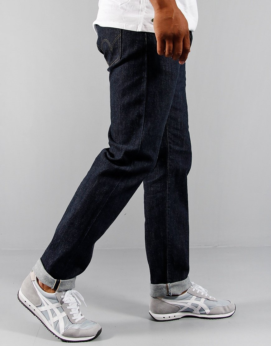 EDWIN Nihon Menpu Regular Tapered Jeans Blue