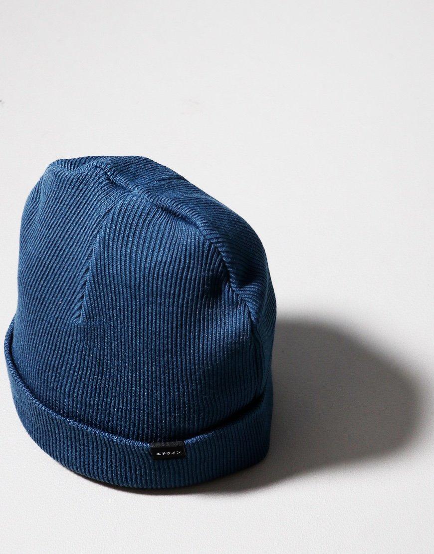 EDWIN Watch Cap Vintage Blue