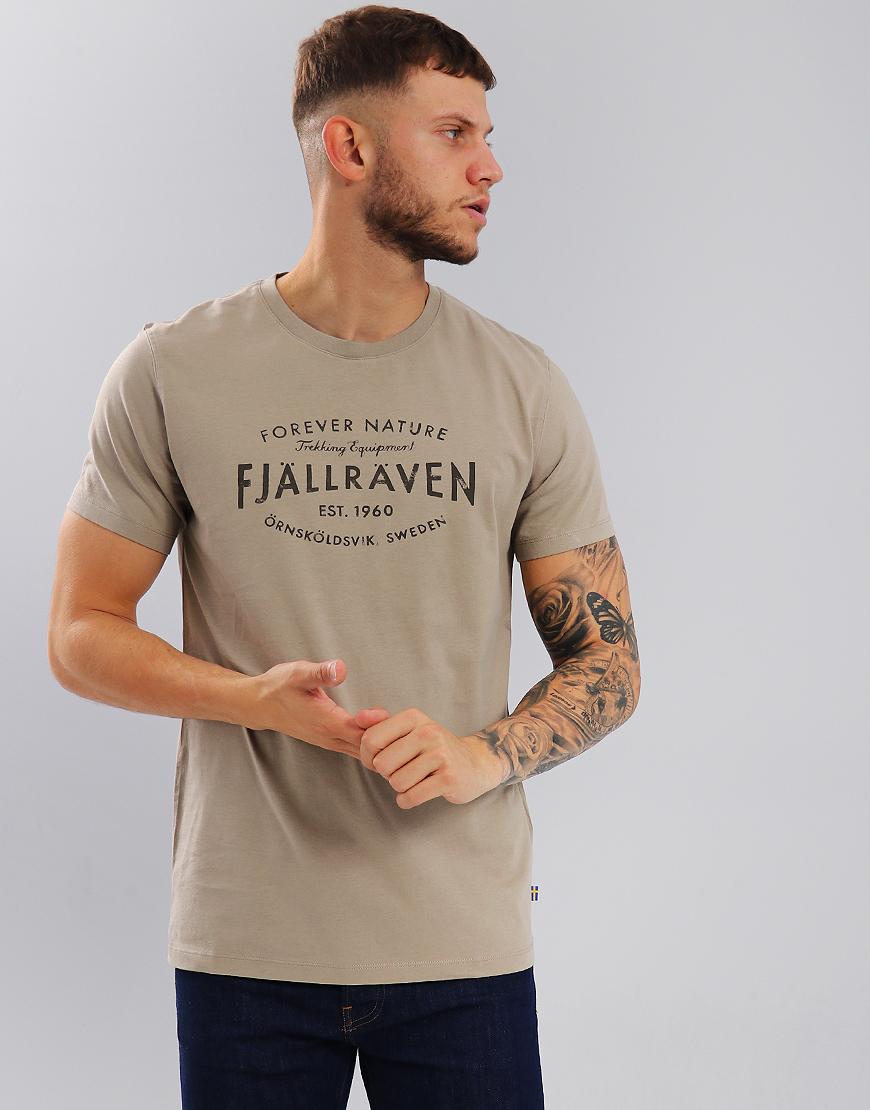 Fjällräven Est. 1960 T-Shirt Fog