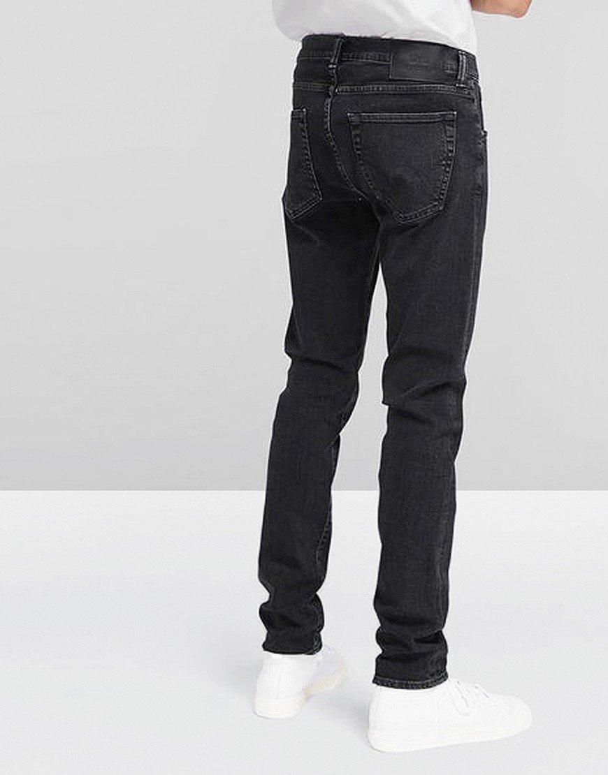 ED-85 Slim Tapered CS Ayano Jeans Black Kagami Wash