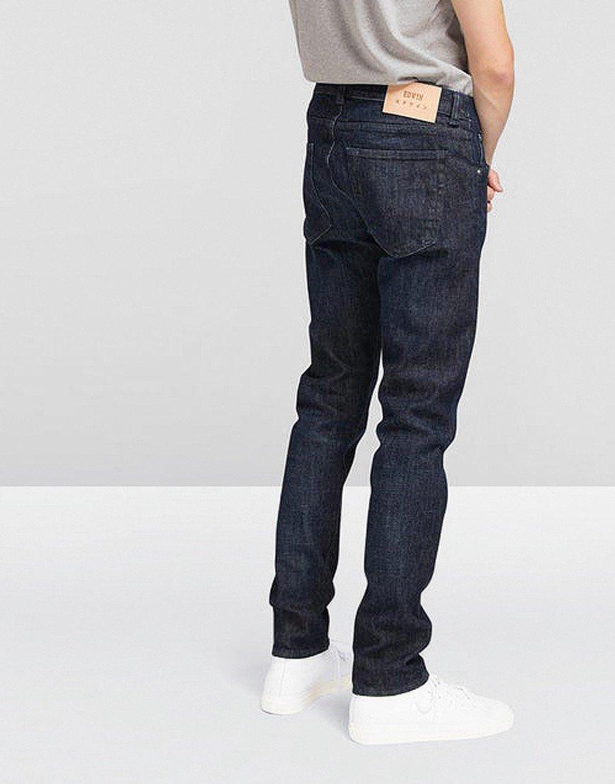 ED-85 Slim Tapered CS Yuuki Denim Jeans Blue Taiki Wash