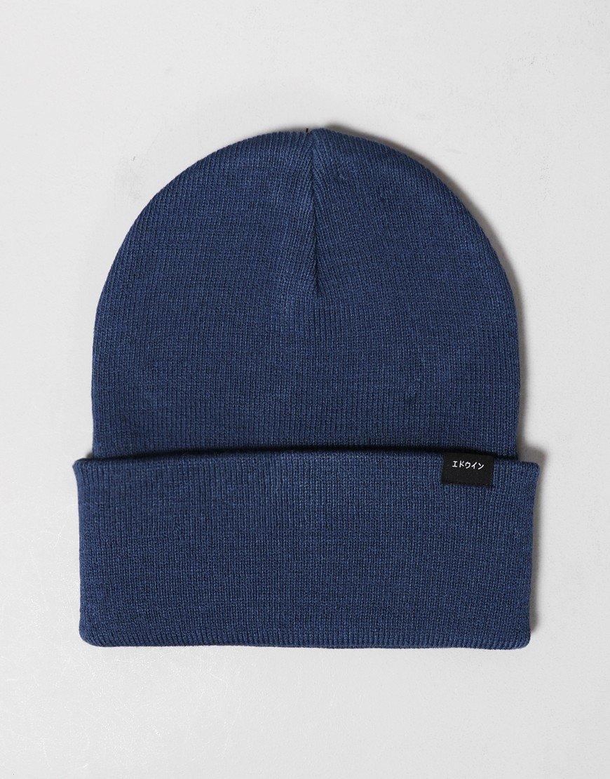 Edwin Kurt Beanie Hat Legion Blue