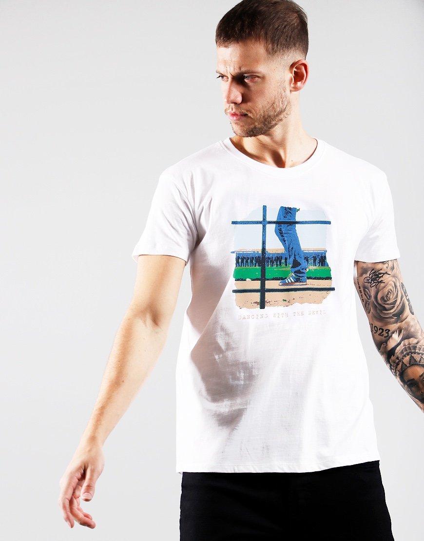 Eighties Casuals Dancing Devil T-Shirt White