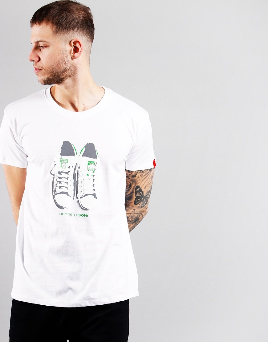 Eighties Casuals Northern Sole T-Shirt White