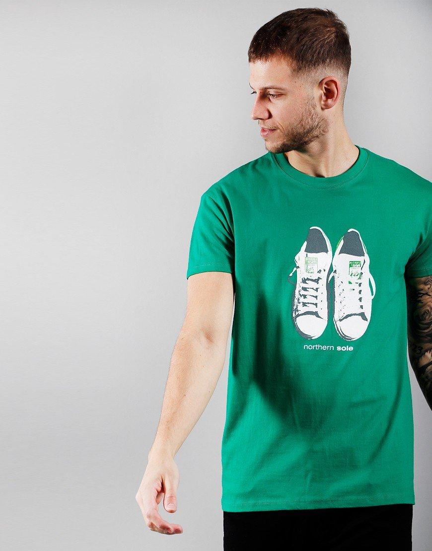 Eighties Casuals Northern Sole T-Shirt Green