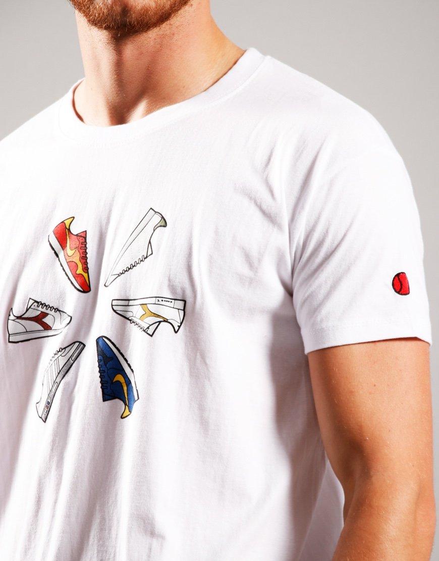 Eighties Casuals 80's Inner Circle T-Shirt White