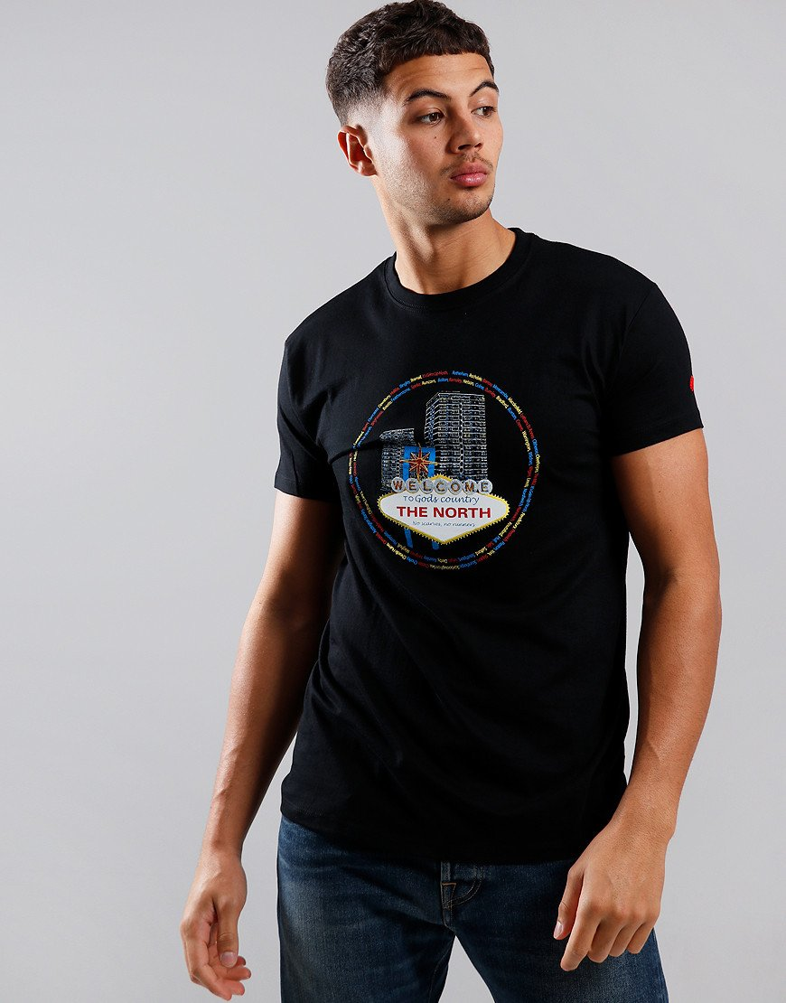 Eighties Casuals Vegas of the North T-Shirt Black