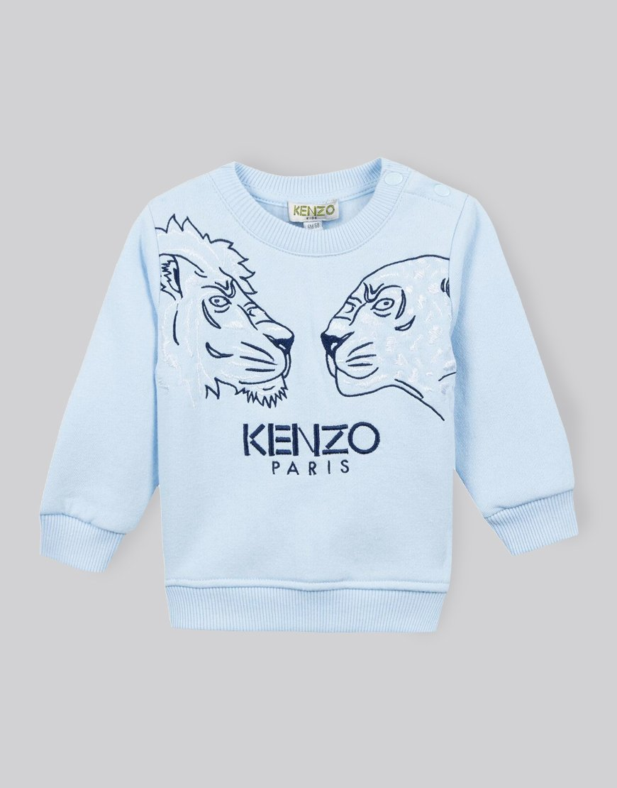 Kenzo Kids Eleis Sweat Light Blue