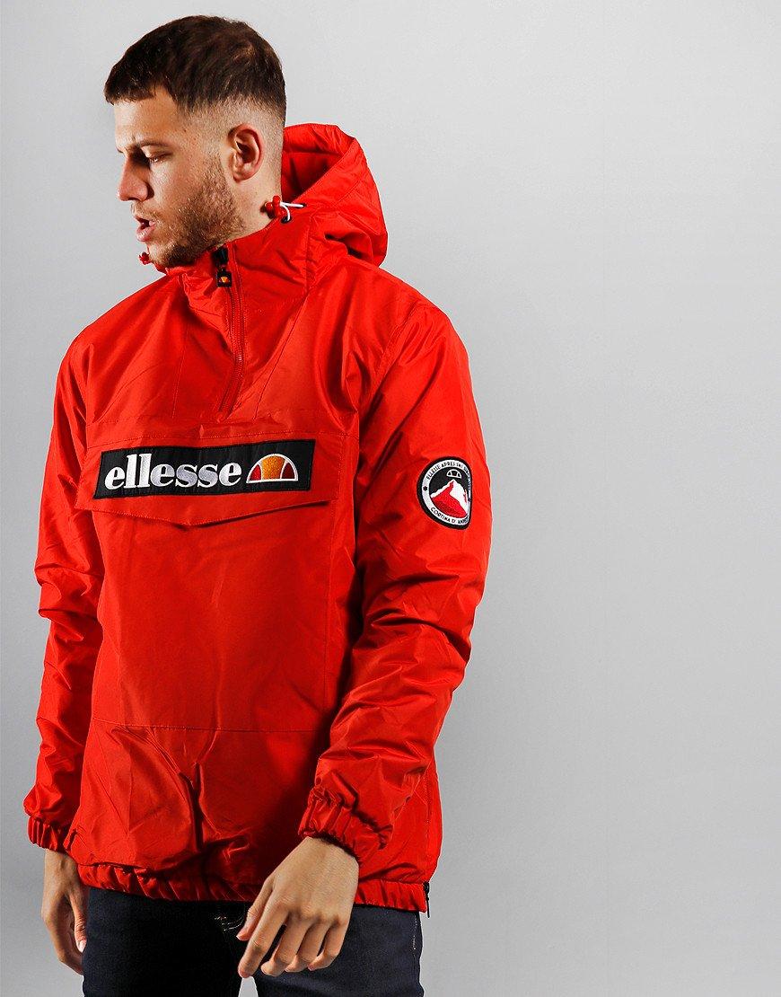 Ellesse Monterini Overhead Jacket Red