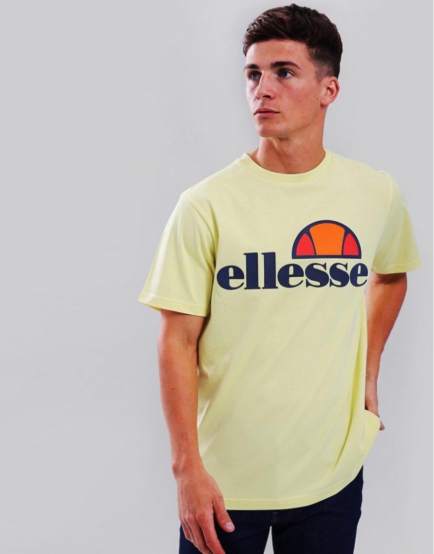 Ellesse Prado T-Shirt Yellow