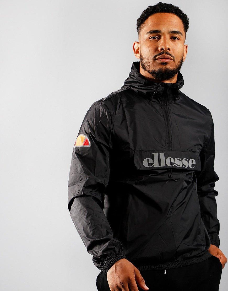 Ellesse Accera Overhead Lightweight Jacket Black