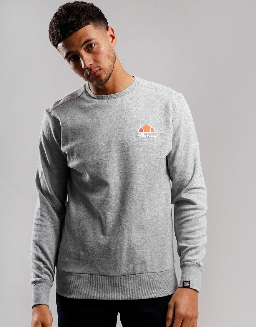 Ellesse Anguilla Crew Sweat Grey Marl