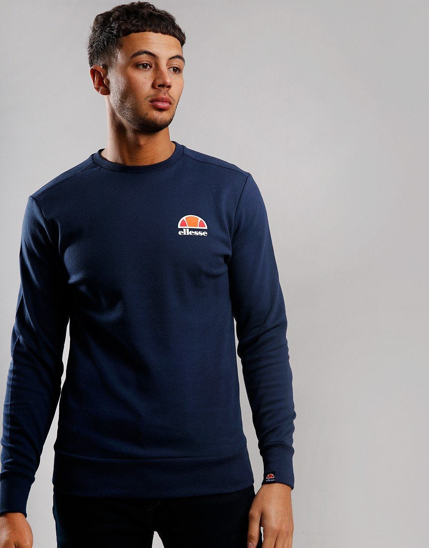 Ellesse Anguilla Crew Sweat Navy