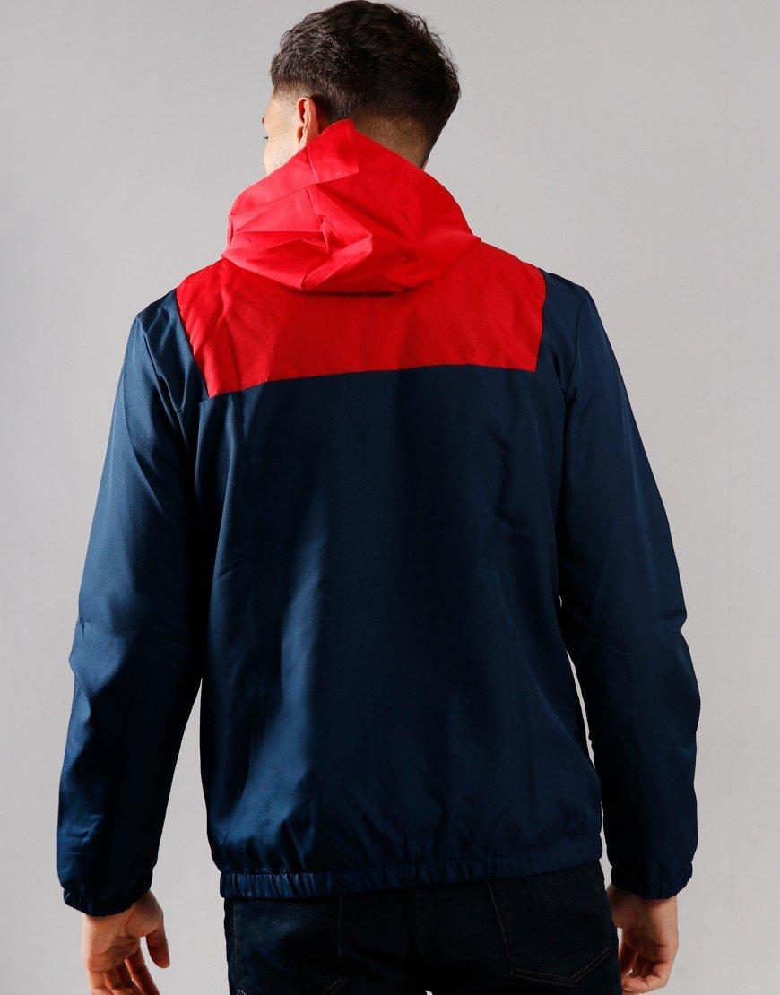 Ellesse Bandita Overhead Jacket Navy/Red