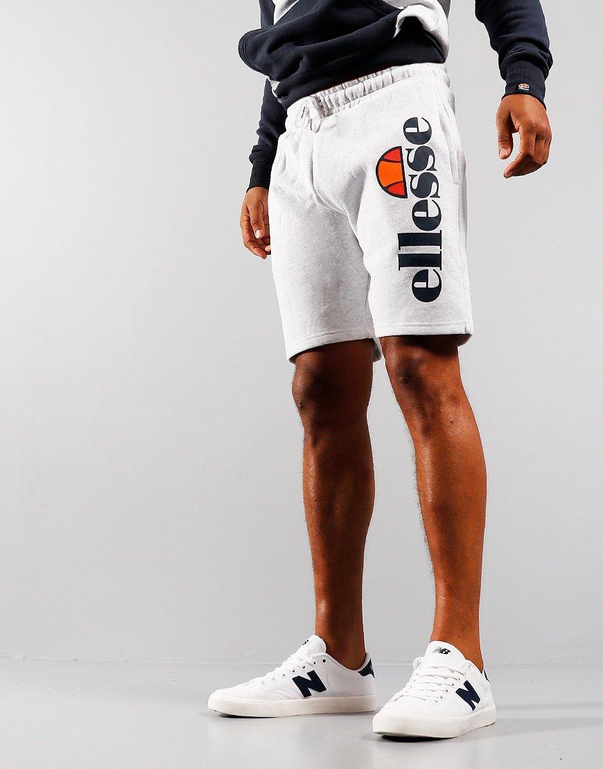 Ellesse Bossini Sweat Shorts White