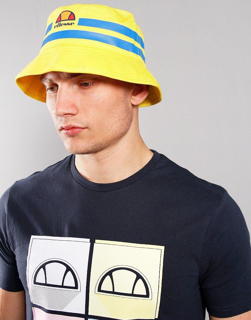 Ellesse Lanori Bucket Hat Yellow