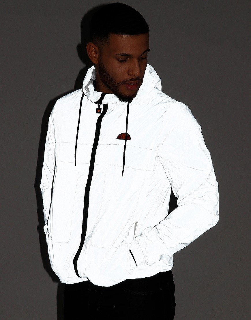 Ellesse Calimera Reflective Jacket White