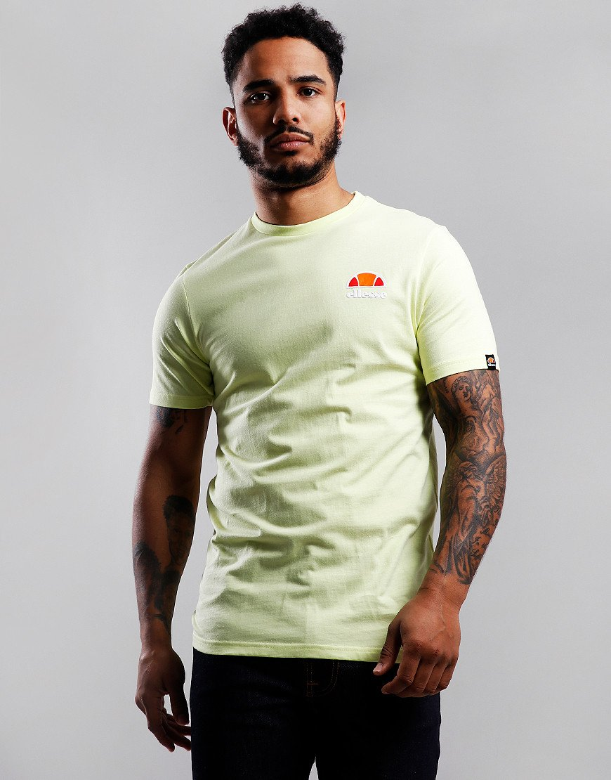 Ellesse Canaletto T-Shirt Light Yellow
