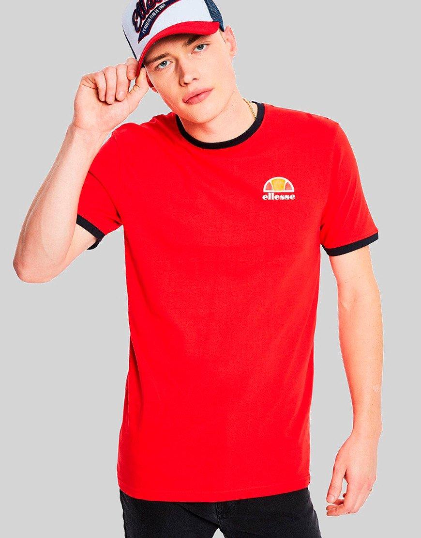 Ellesse Cubist T-Shirt Red