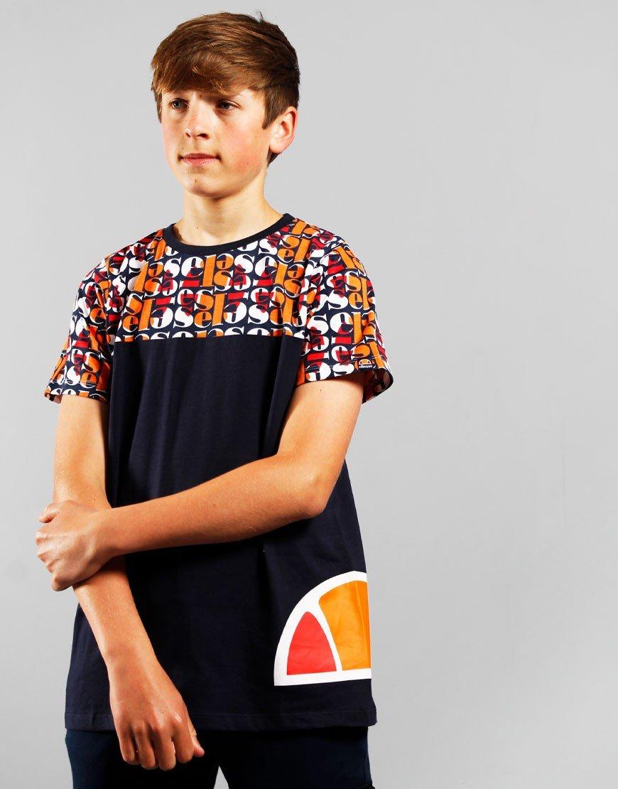 Ellesse Kids Dillian T-Shirt Navy