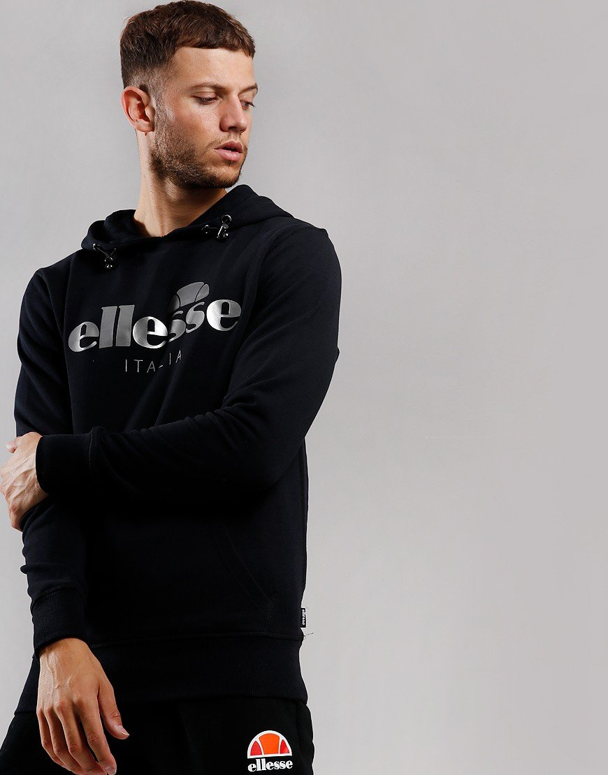 Ellesse Farina Hooded Sweat Black