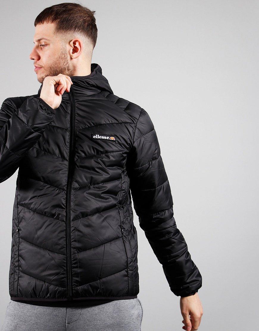 Ellesse Ginapi Puffer Jacket Black Mono