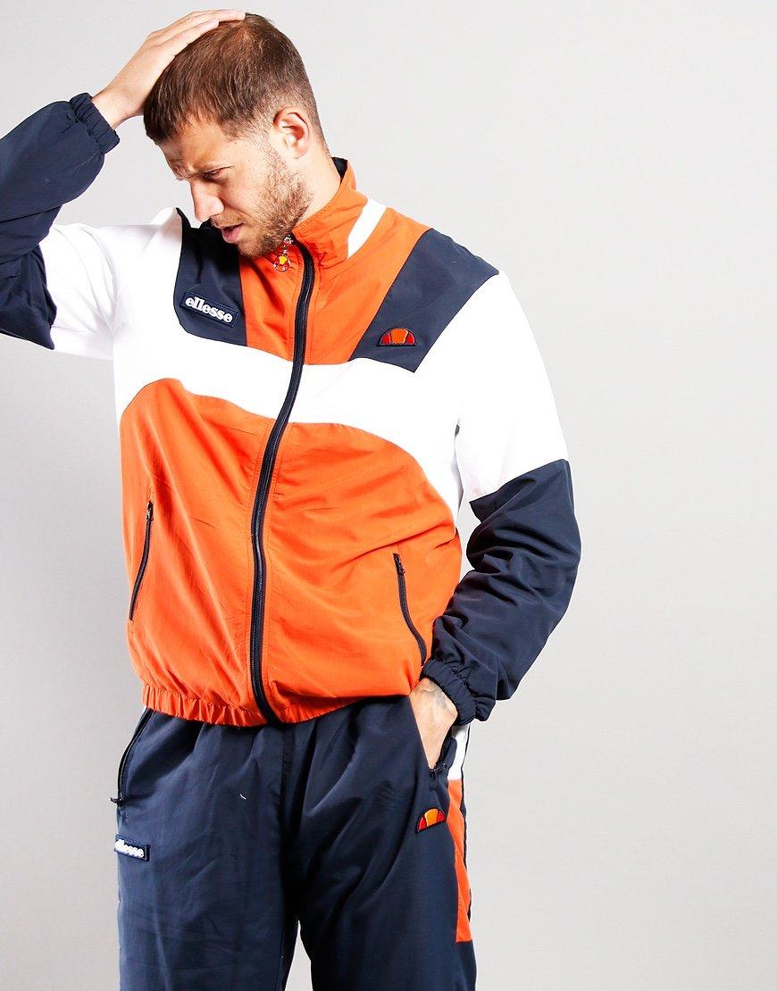 Ellesse Gonzaga Jacket Dark Orange