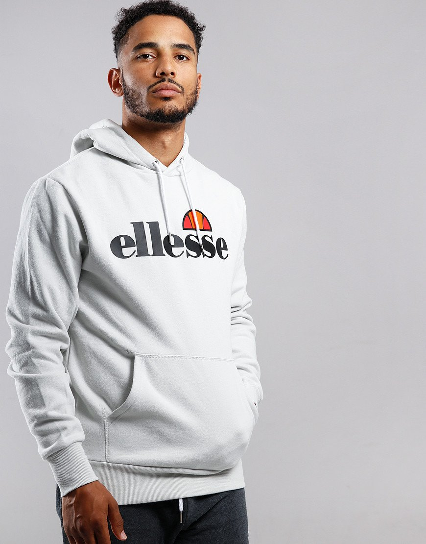 Ellesse Gottero Hooded Sweat Light Grey