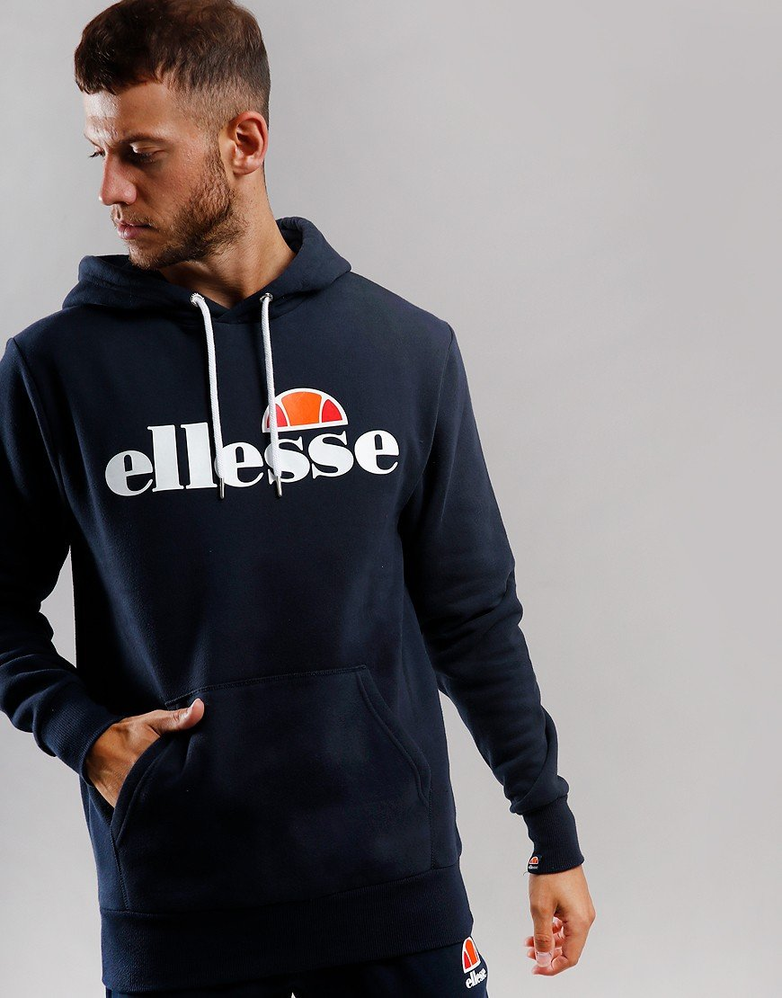 Ellesse Gottero Hooded Sweat Navy