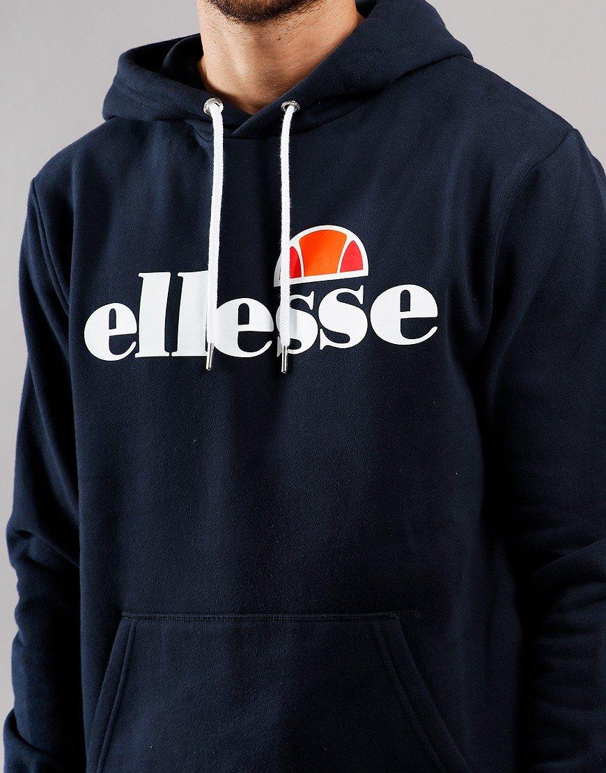 Ellesse Gottero Hooded Sweat Navy