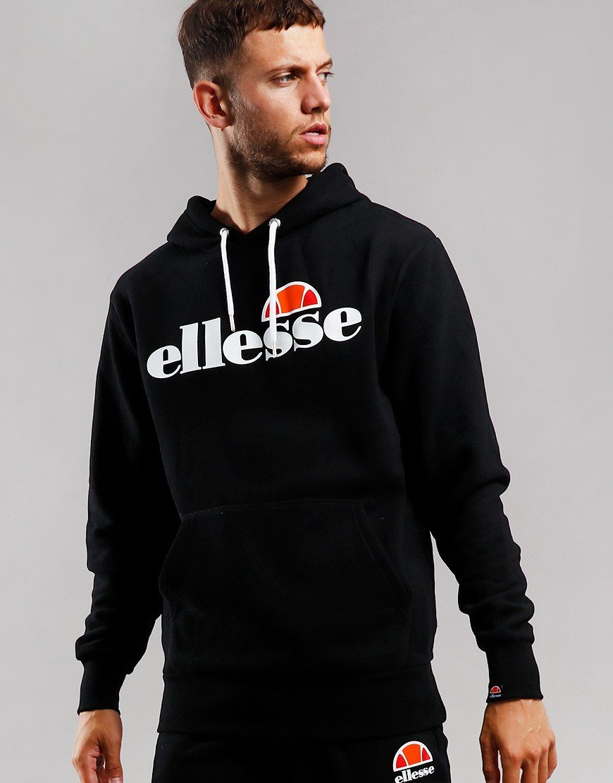 Ellesse Gottero Hooded Sweat Black