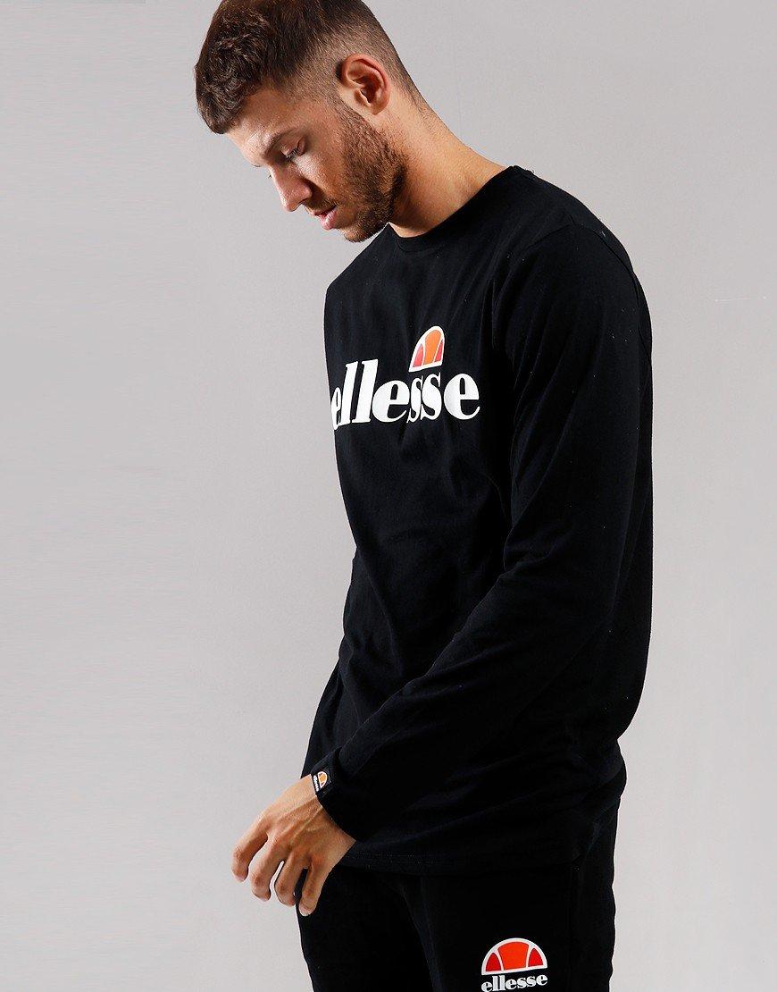 Ellesse Grazie Long Sleeve T-Shirt Black