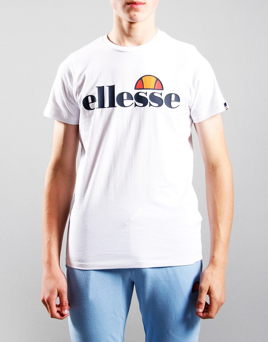 Ellesse Kids Malia T-Shirt White