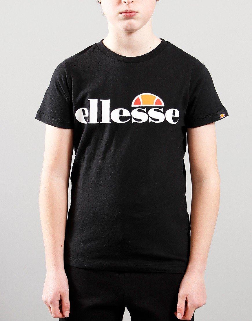 Ellesse Kids Malia T-Shirt Black