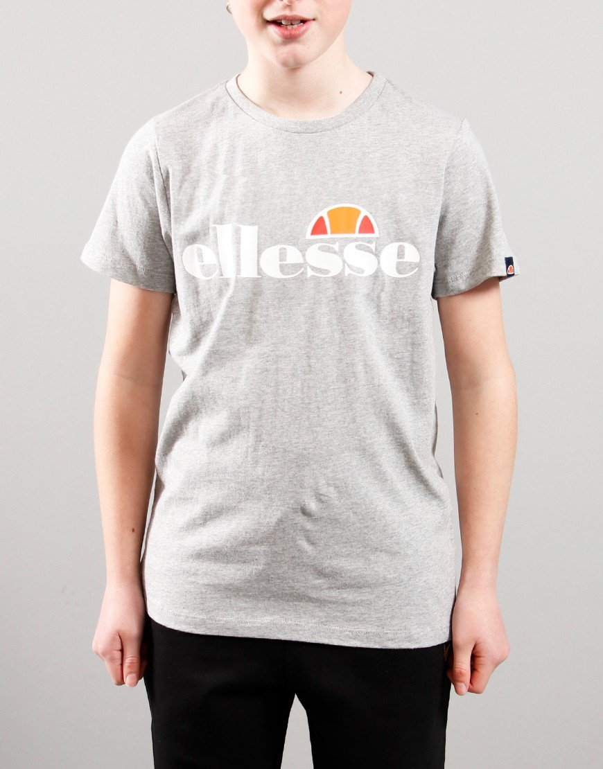 Ellesse Kids Malia T-Shirt Grey