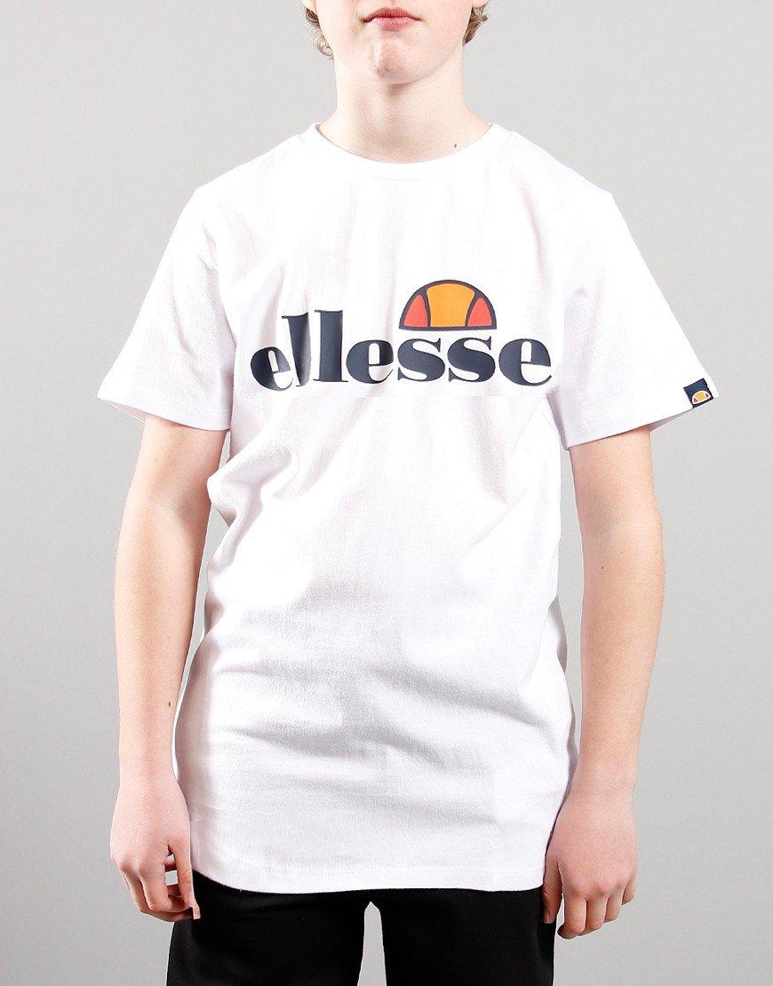 Ellesse Kids Malia T-Shirt White
