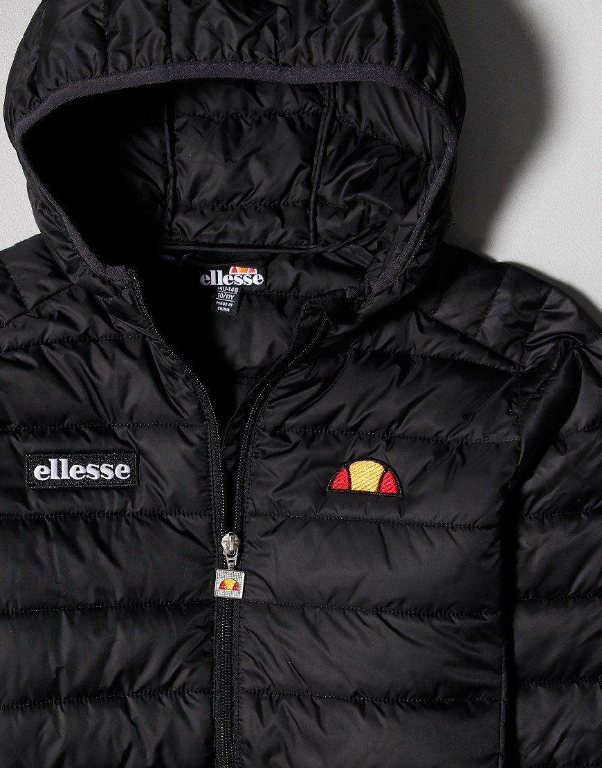 Ellesse Kids Regalio Padded Jacket Black