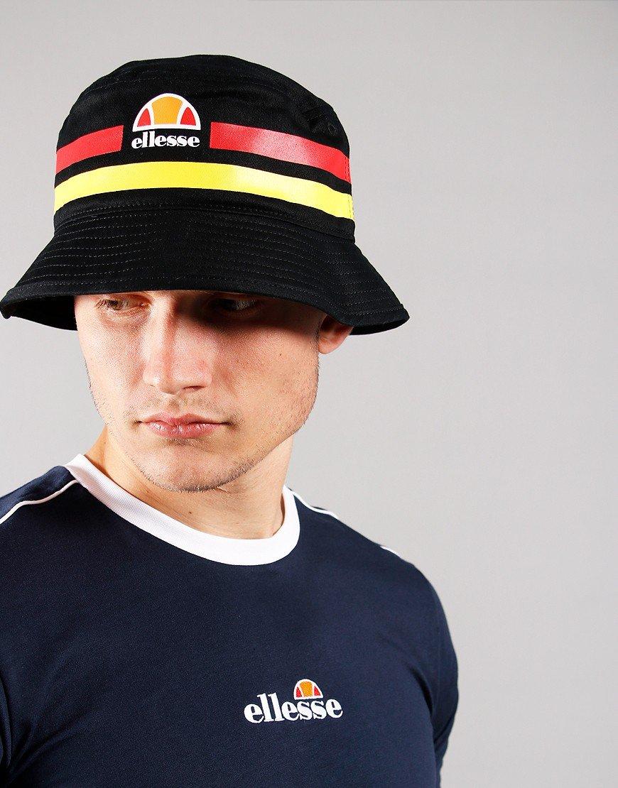 Ellesse Lanori Bucket Hat Black