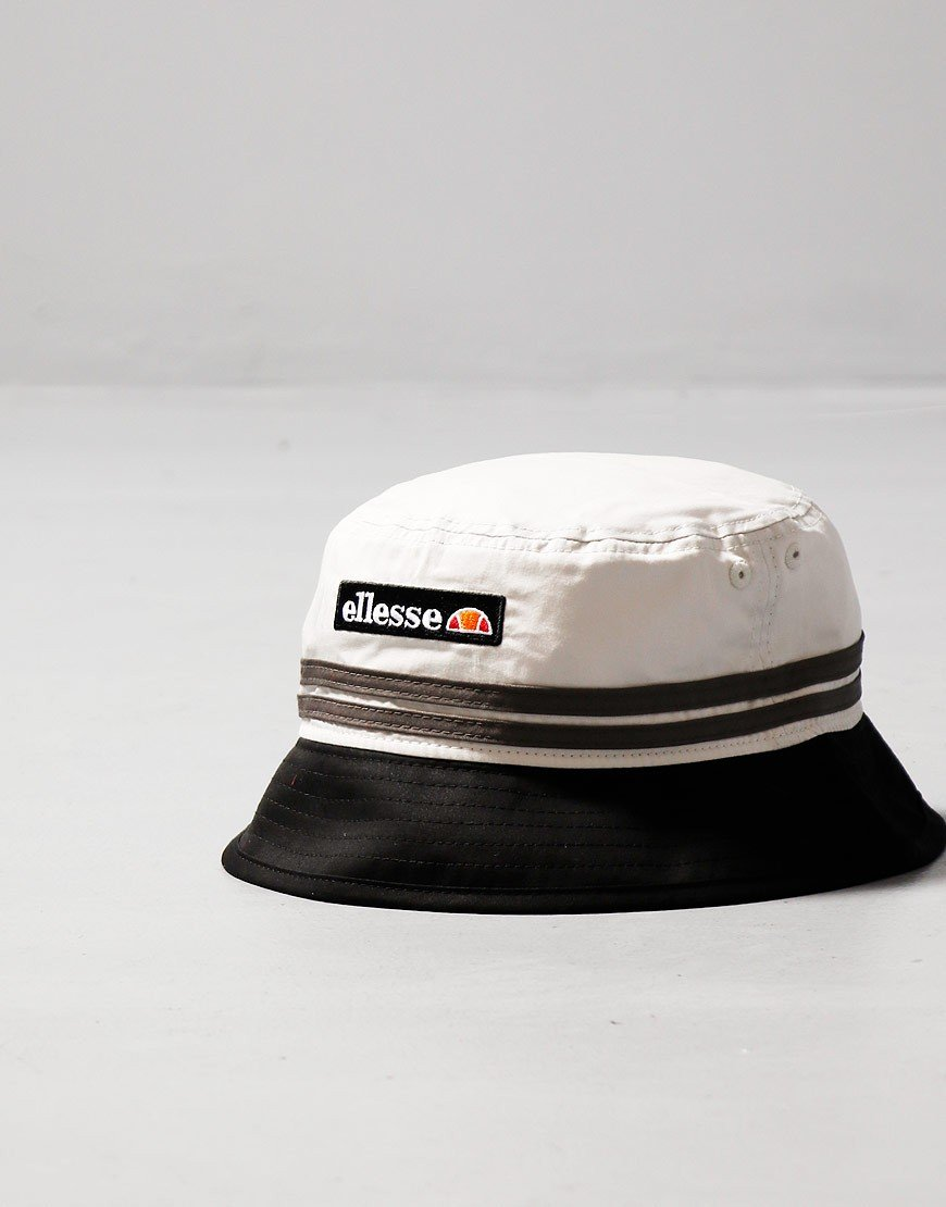 Ellesse Levan Bucket Hat Black Light Grey