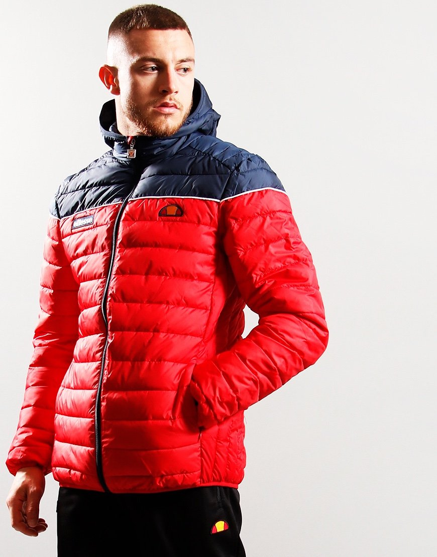 Ellesse Lombardy 2 Jacket Red
