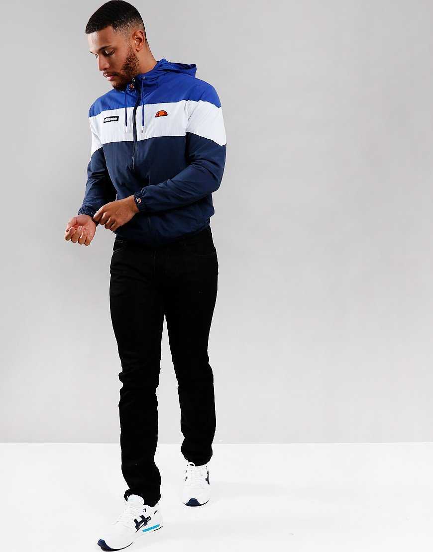 Ellesse Mattar Hooded Track Jacket Navy