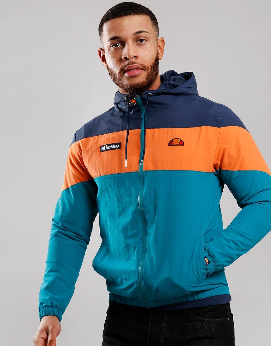 Ellesse Mattar Hooded Track Jacket Green