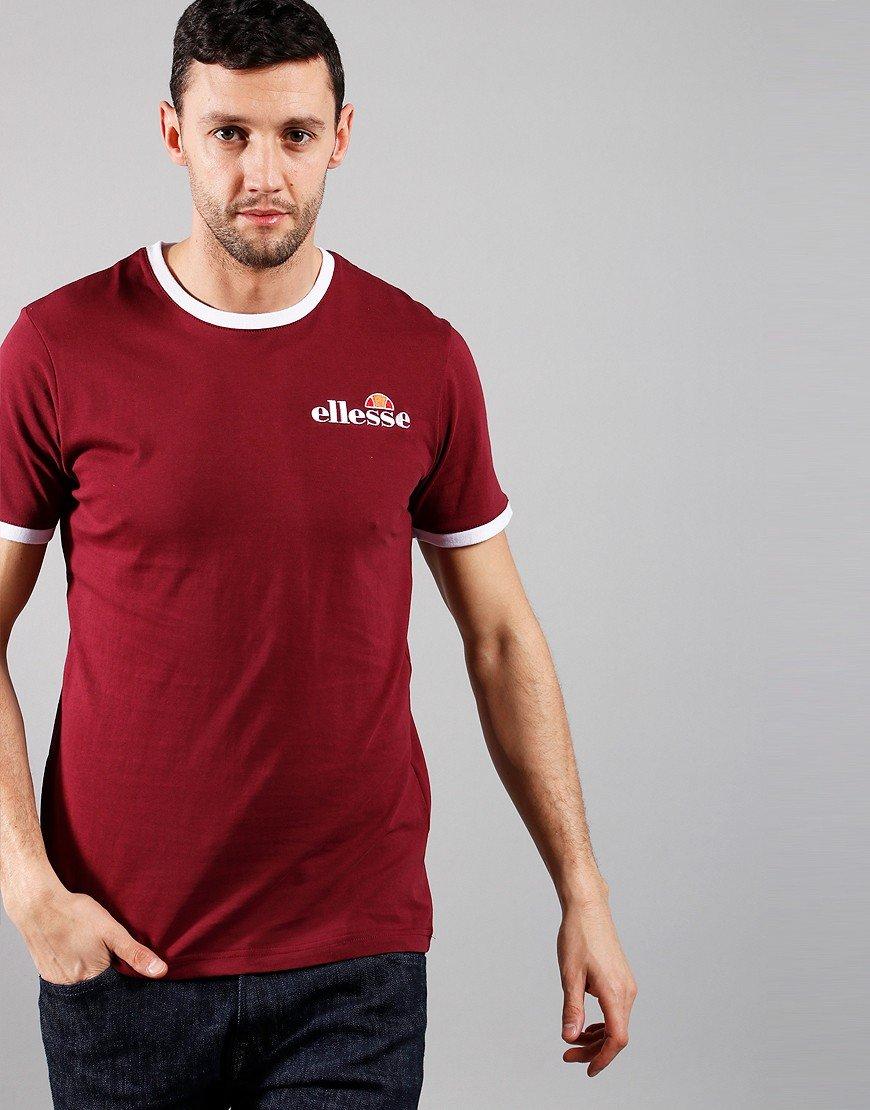 Ellesse Meduno T-Shirt Burgundy