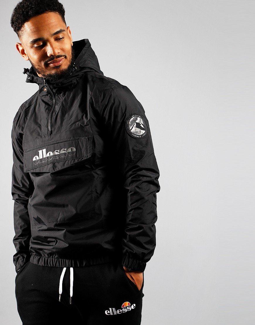 Ellesse Mont Nero Overhead Jacket Black